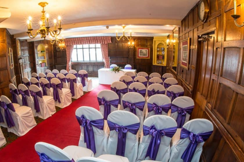 The Oak Room Wedding Ceremony