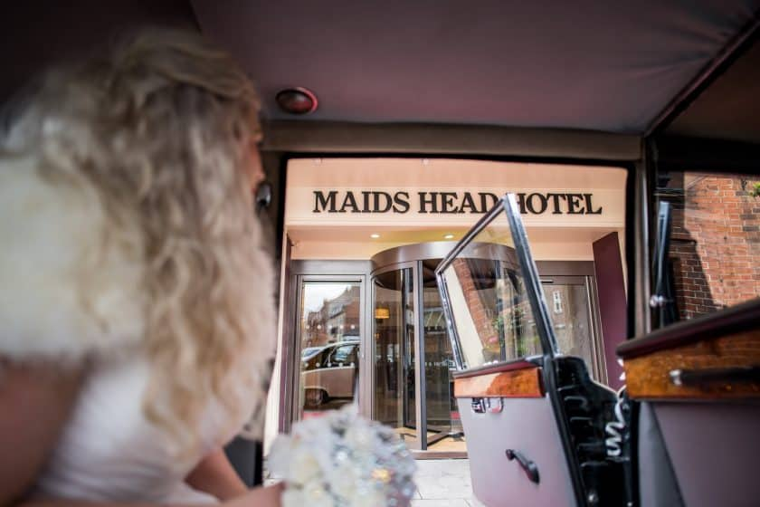 Weddings at Maids Head Hotel