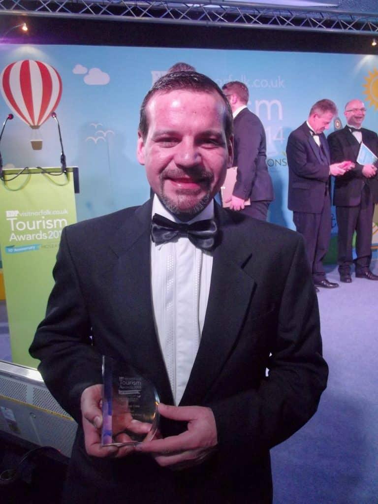 Bruno Wins VisitNorfolk Tourism Award