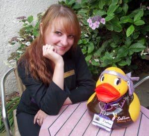 Break Charity Duck Race Auction Success