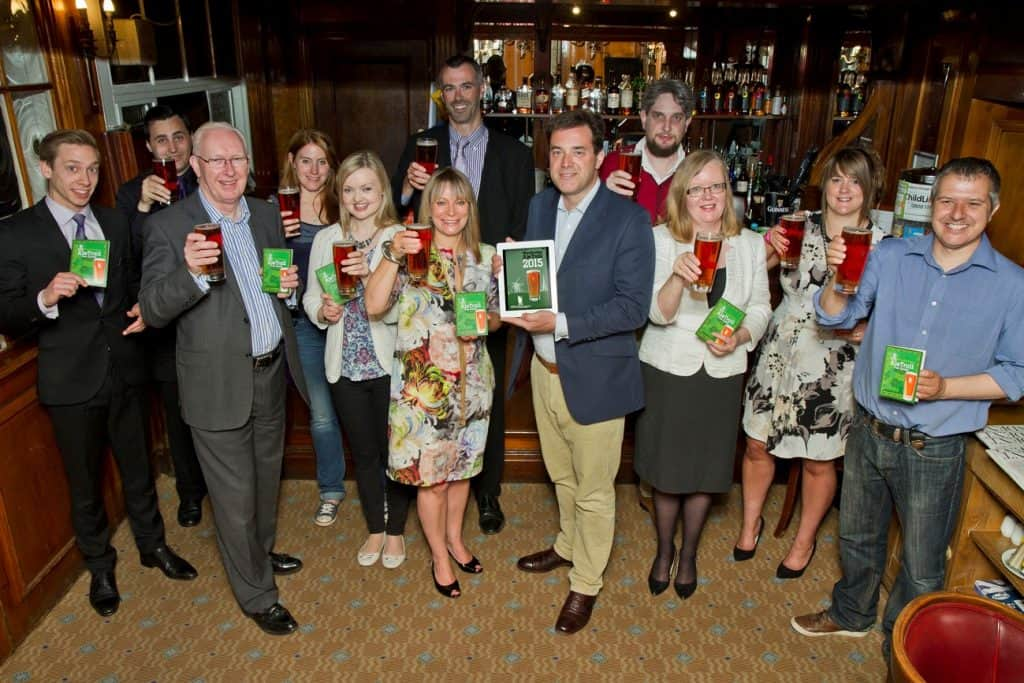 Maids Head launch for Woodfordes East Anglian Ale Trail