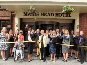 maids head new entrance launch