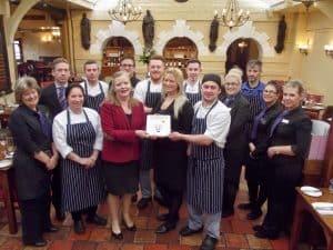 Maids Head Hotel Restaurant Awarded Second AA Rosette