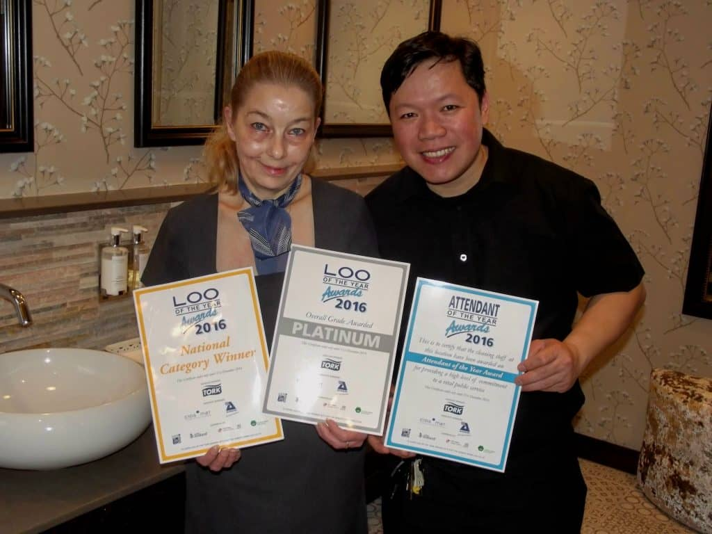 Loo of the Year certificates
