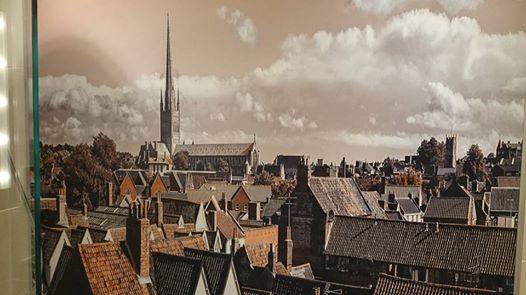 Norwich roofscape photograph