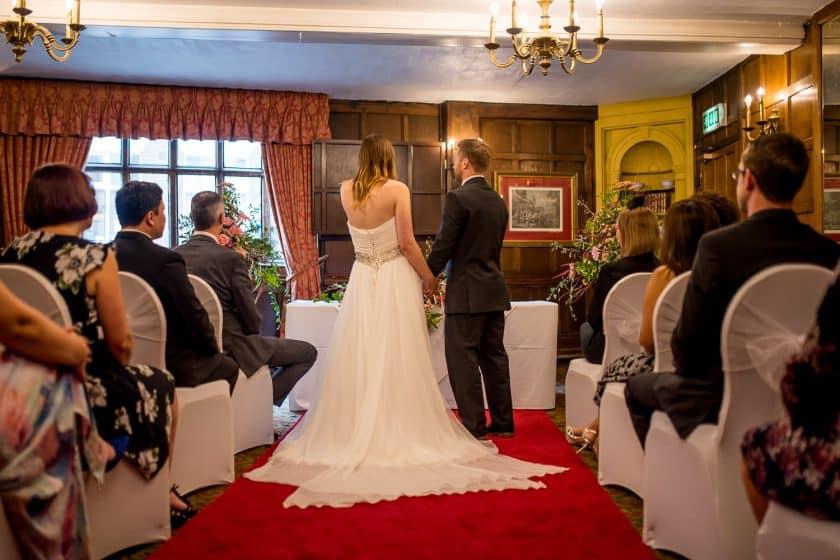 Maids Head Wedding Ceremony Norwich