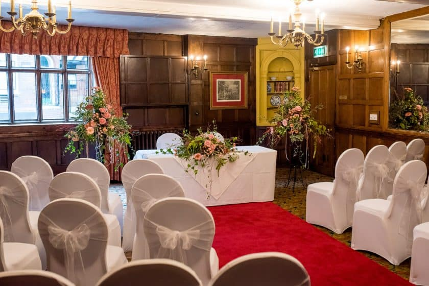 Oak Room Wedding Ceremony