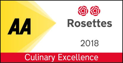 2 AA Rosettes for Winepress Restaurant