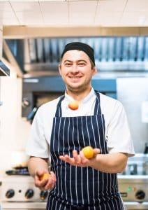 Marcin 'Magic' Pomierny, Head Chef, Maids Head Hotel