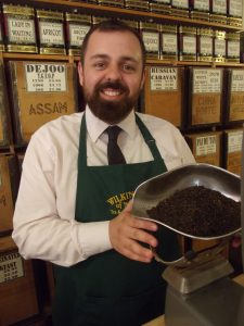 Sam Masters with the new Maids Head blend
