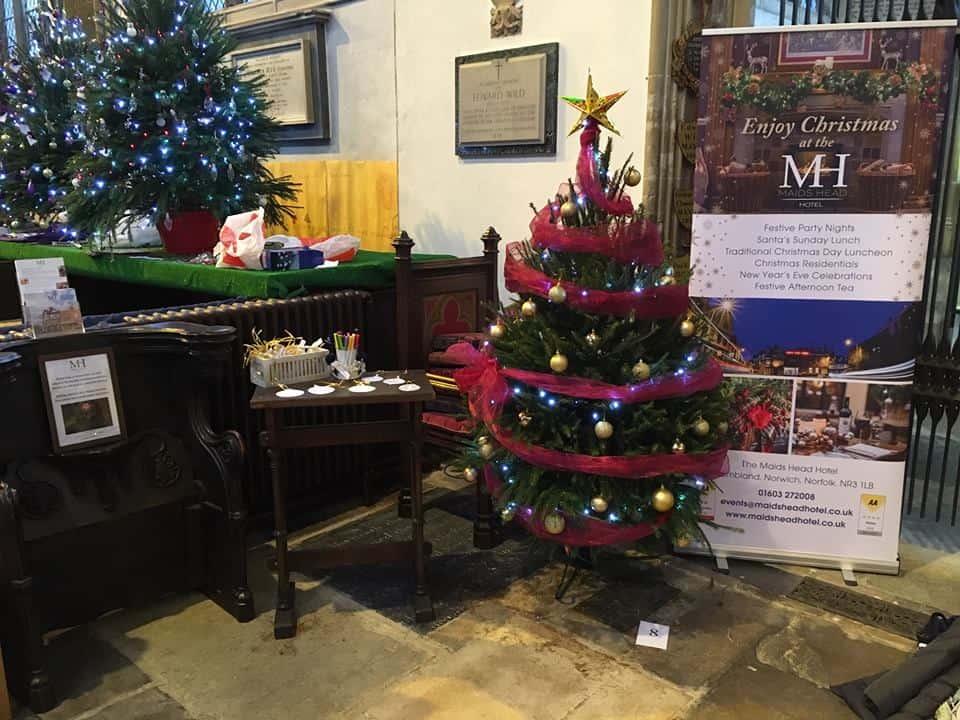 The Maids Head's Christmas Tree