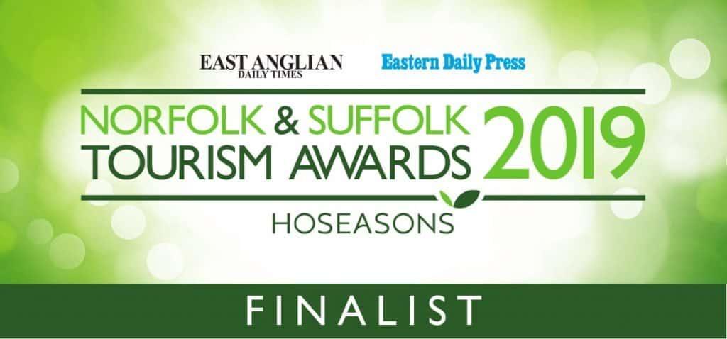 Norfolk and Suffolk Tourism Awards Finalist 2019