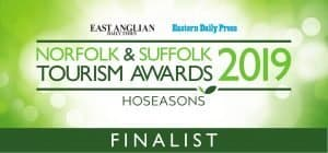 Norfolk and Suffolk Tourism Awards Finalist 2019