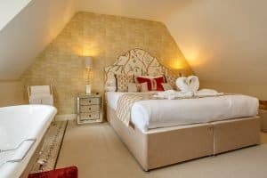 Catherine of Aragon Suite at Maids Head Hotel