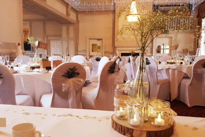 Minstrel Suite Wedding Reception