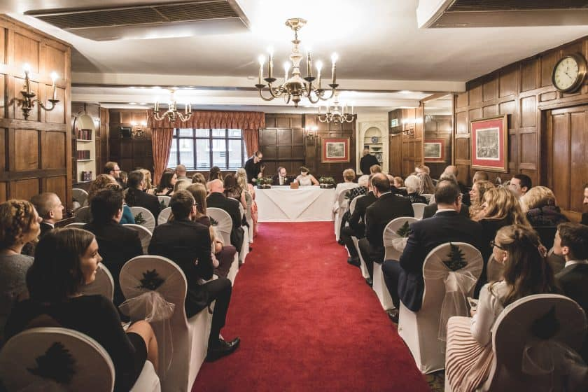 Maids Head Hotel Wedding Ceremony Norwich