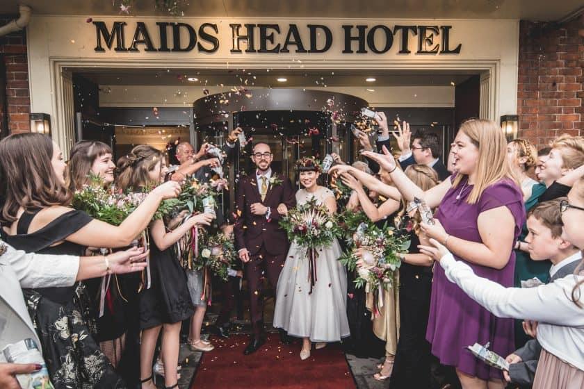 Maids Head Hotel, Norwich, Wedding Receptions