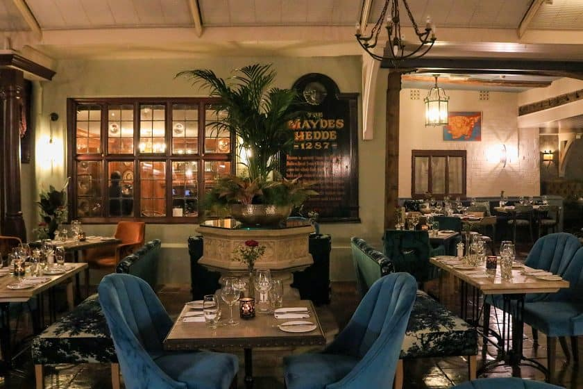 2 AA Rosettes WinePress Restaurant Norwich