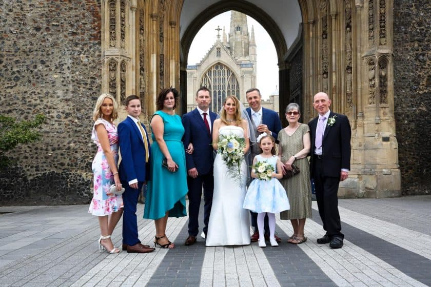 Maids Head Weddings Norwich Cathedral