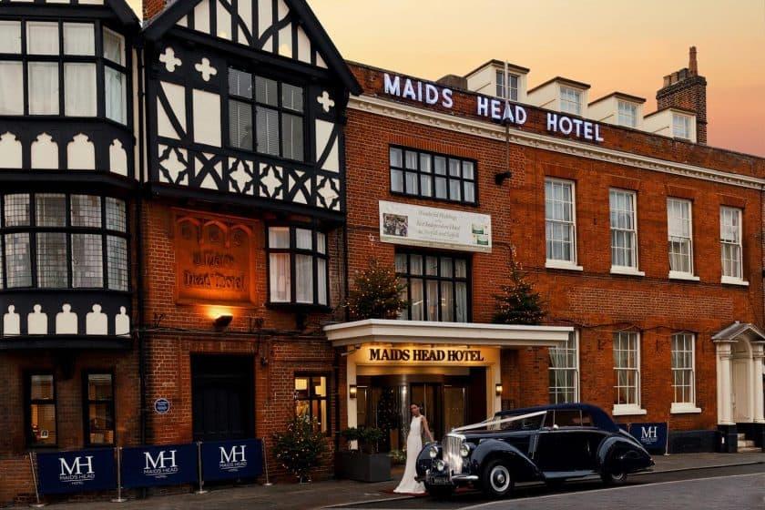 Maids Head drophead Bentley