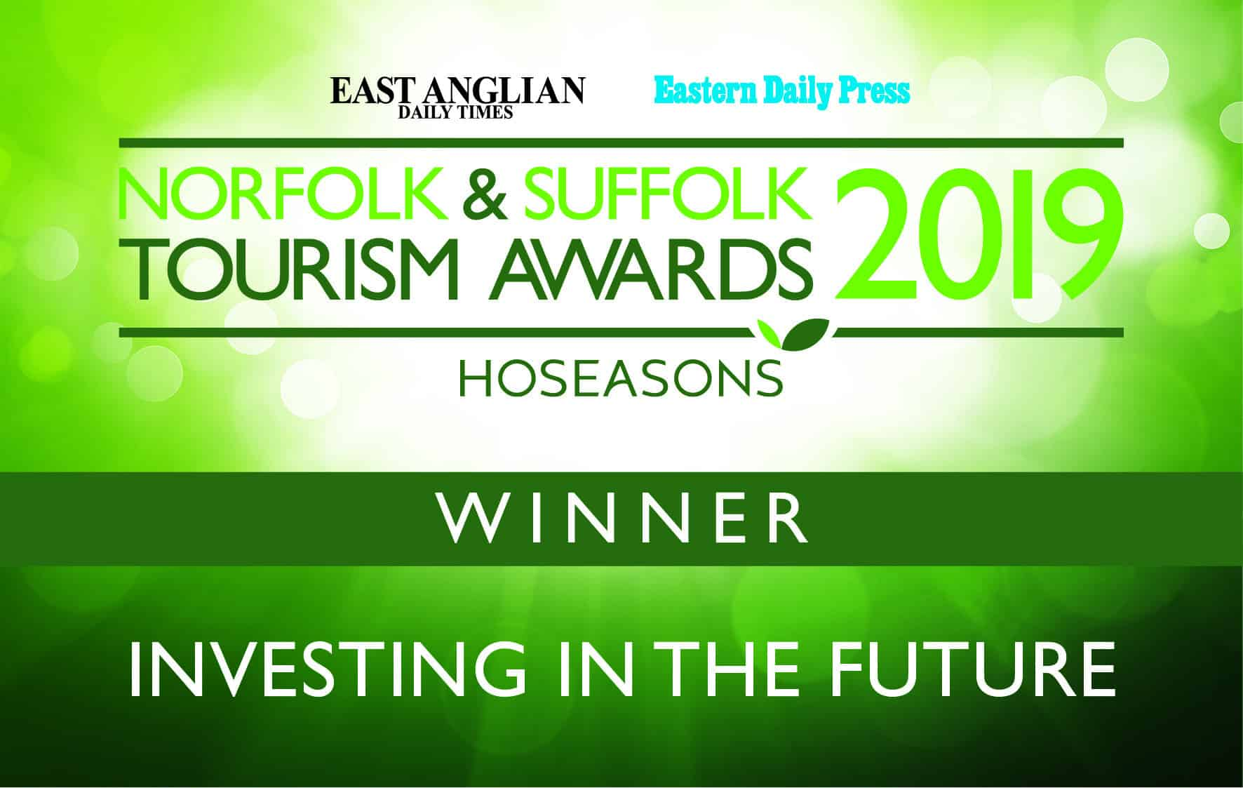Tourism Awards Winner Investing in the Future