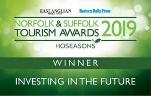 Maids Head - Winner of the Investing in the Future Award 2019 in the Norfolk and Suffolk Tourism Awards