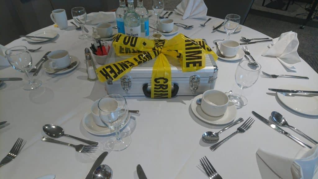 CSI Crime and Dine Event