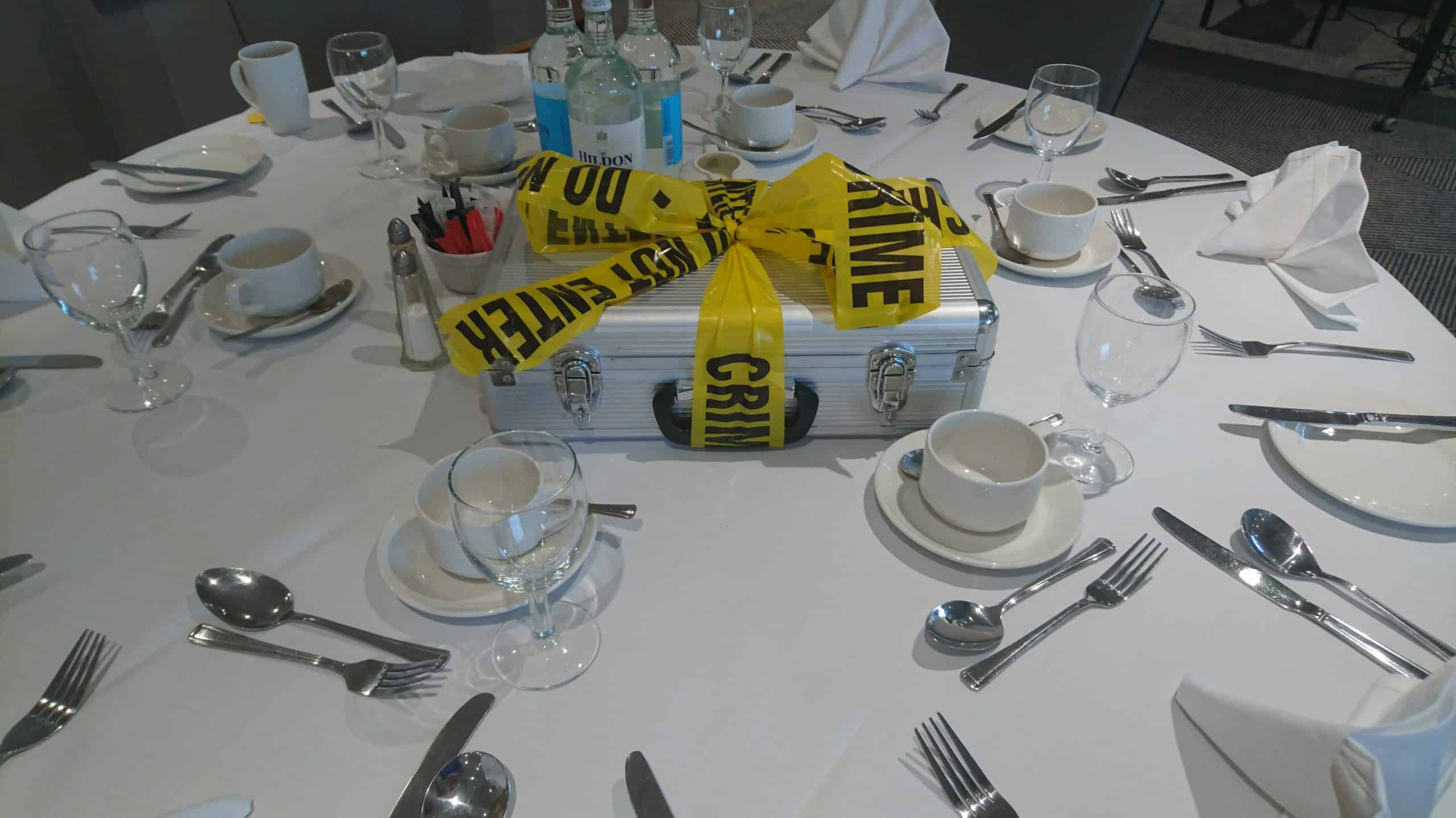 CSI Crime and Dine Event