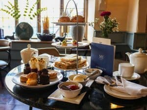 Afternoon Tea in WinePress Restaurant at Maids Head Hotel