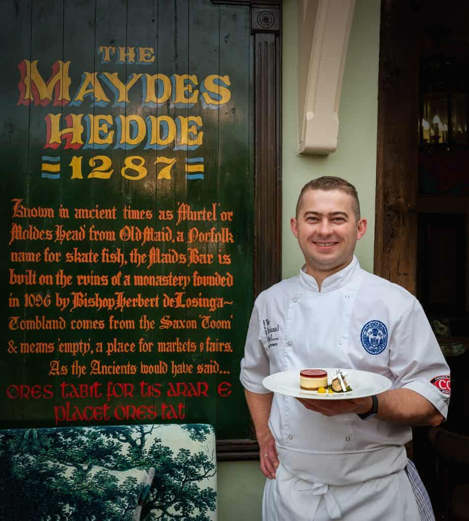 Head Chef Magic, National Chef of the Year finalist